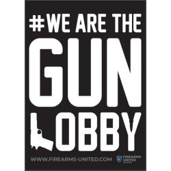 "Sticker - ""GUN LOBBY"""